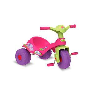 Triciclo-Mototico-Andador-e-Pedal-Rosa---Bandeirante