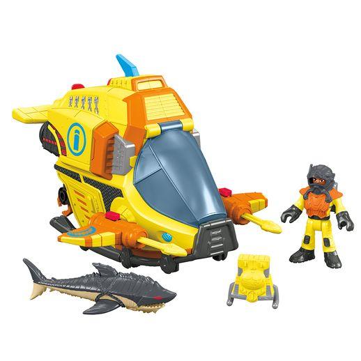 Imaginext-Veiculos-Oceano-Ocean-Submarine---Mattel