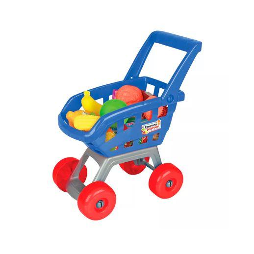 Carrinho-de-Compras-Comprinhas-Divertidas-Azul---Brinquedos-Chocolate