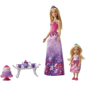 Barbie-e-Chelsea-Hora-do-Cha---Mattel