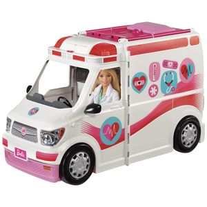 Barbie-Hospital-Movel---Mattel