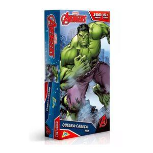 Os-Vingadores-Quebra-Cabeca-200-Pecas-Hulk---Toyster