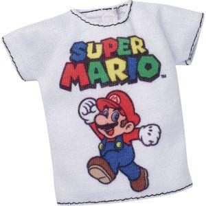 Barbie-Fashionista-Roupinha-Camiseta-Super-Mario---Mattel