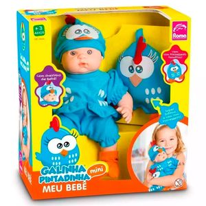 Boneca-Meu-Bebe-Galinha-Pintadinha-Mini---Roma