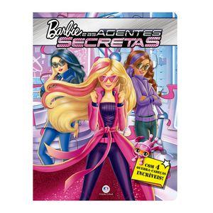 Livro-com-4-Quebra-Cabecas---Barbie-e-as-Agentes-Secretas---Ciranda-Cultural