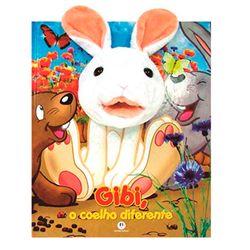 Livro-Fantoche-Gibi-o-Coelho-Diferente---Ciranda-Cultural