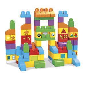 Fisher-Price-Mega-Bloks-Vamos-Aprender-Construindo-Set-Multicolor---Mattel
