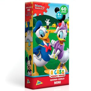 Mini-Quebra-Cabeca-A-Casa-do-Mickey-Mouse-Donald-60-Pecas---Toyster