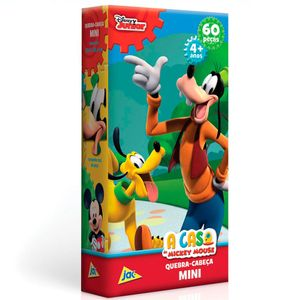 Mini-Quebra-Cabeca-A-Casa-do-Mickey-Mouse-Pateta-60-Pecas---Toyster