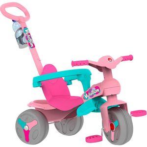 Triciclo-Veloban-Passeio-e-Pedal-Rosa---Bandeirante