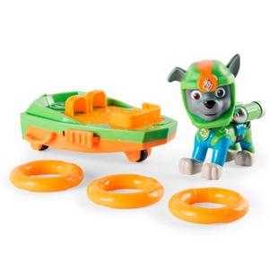 Patrulha-Canina-Figura-de-Luxo-com-Prancha-de-Lancamento-Rocky---Sunny