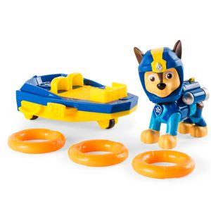 Patrulha-Canina-Figura-de-Luxo-com-Prancha-de-Lancamento-Chase--Sunny