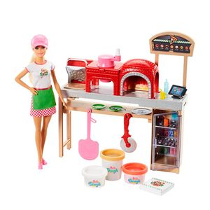 Barbie-Pizzaiola-Playset---Mattel-