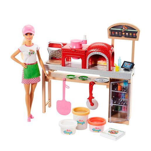 Barbie-Pizzaiola-Playset---Mattel-