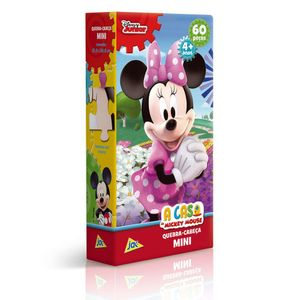 Mini-Quebra-Cabeca-A-Casa-do-Mickey-Mouse-Minnie-60-Pecas---Toyster