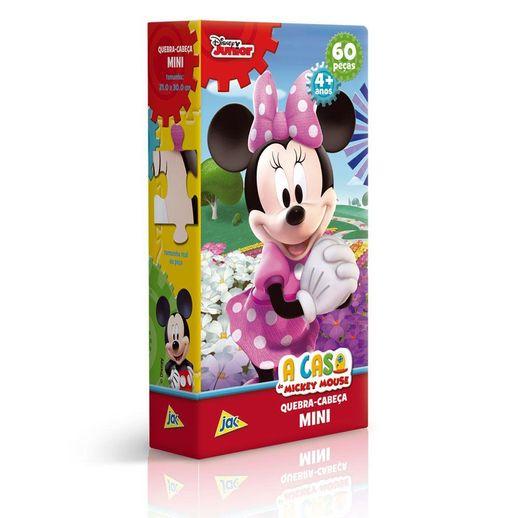Mini-Quebra-Cabeca-A-Casa-do-Mickey-Mouse-Minnie-60-Pecas---Toyster