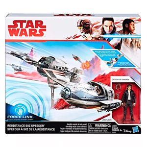 Star-Wars-Veiculo-E-Figura-Ski-Speeder-Resistance-EP8-Force-Link-Classe-C---Hasbro