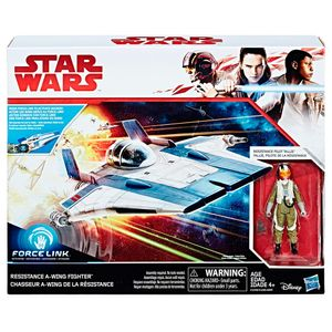 Star-Wars-Force-Resistence-Force-Link-Classe-de-veiculo-B-Tallie-Piloto---Hasbro