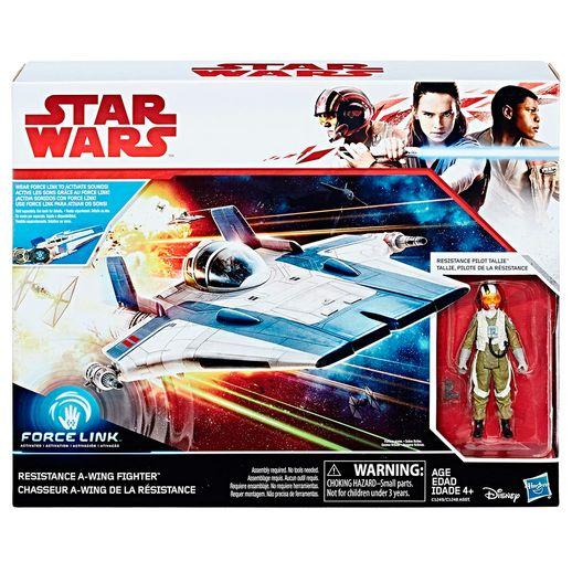 Star-Wars-Force-Resistence-Force-Link-Classe-de-veiculo-B-Tallie-Piloto---Hasbro