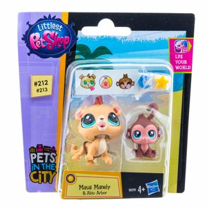 Littlest-Pet-Shop-Mansai-Manel-e-Abihu-Arbor---Hasbro