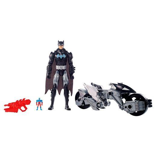 Liga-da-Justica-Batman-e-Batmoto-Transformavel-Preta---Mattel