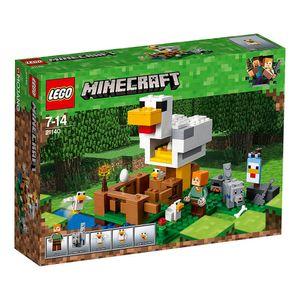 Lego-Minecraft-21140-O-Galinheiro---Lego