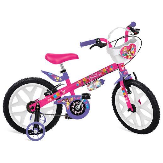 Bicicleta Aro 16 Princesas Disney - Bandeirante  31bab678aa8