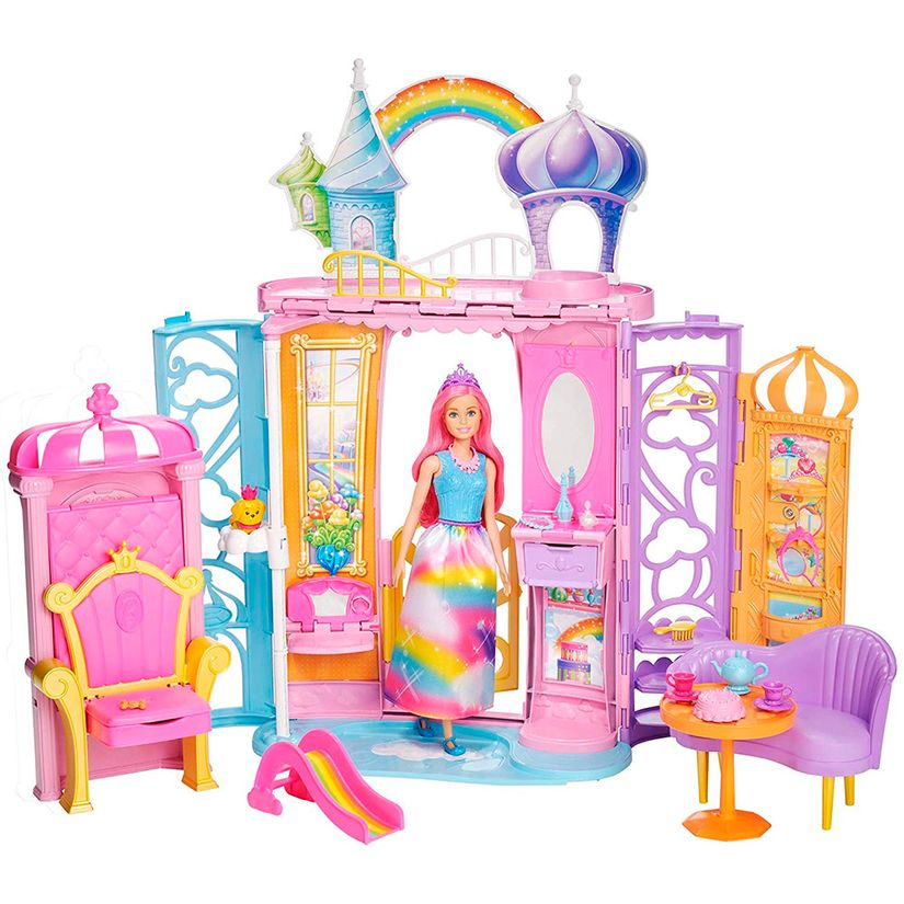 8da65c8b6c Barbie Castelo de Arco Íris - Mattel