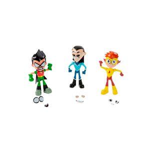 Imaginext-Teen-Titans-Conjunto-Mini-Figuras-Robin-Kid-Flash-e-Aqualad---Mattel