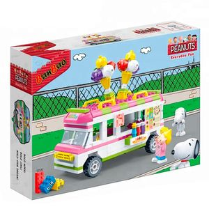 Snoopy-Everyday-Fun-Carro-de-Sorvete-250-Pecas---Banbao