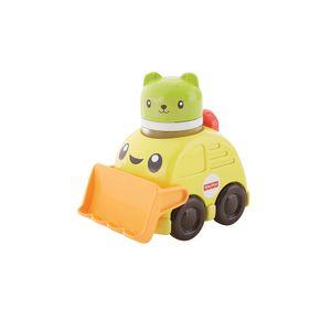 Fisher-Price-Veiculos-de-Animaizinhos-Escavadeira---Mattel