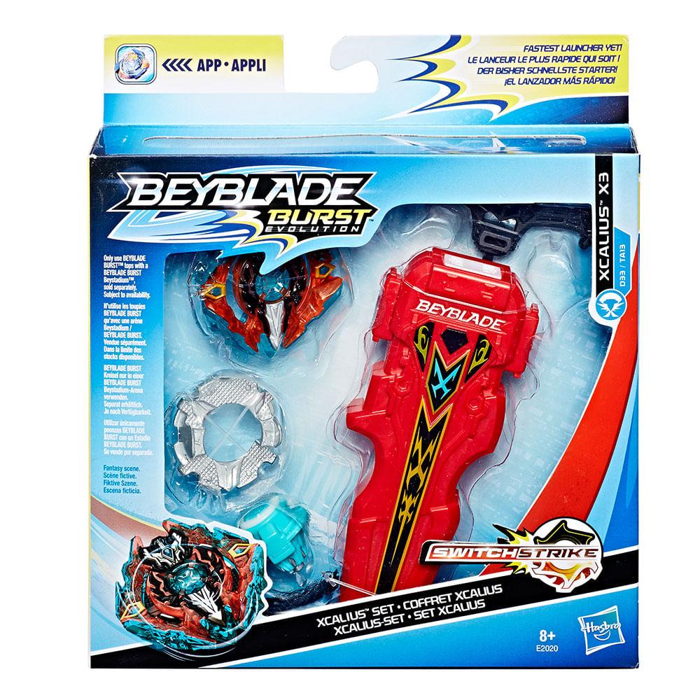 Beyblade Burst Evolution Xcalius Set - Hasbro   Toymania - Toymania 942784ffa3