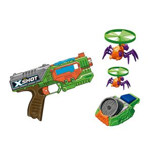 X-Shot-Bug-Attack-Lancador-de-Dardos-Swarm-Sekeer-com-Launcher-Flying-Bugs---Candide