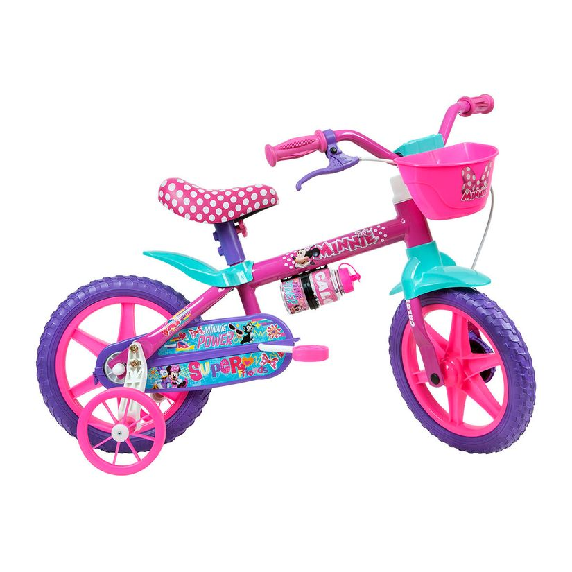 427b3e534 Bicicleta Aro 12 Minnie - Caloi