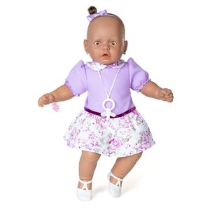Boneca-Meu-Bebe-Negro-Vestido-Lilas---Estrela