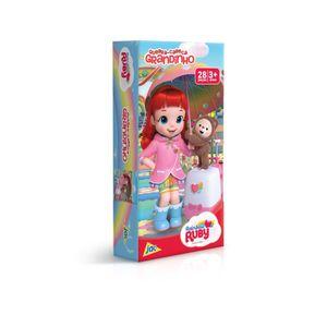 Quebra-Cabeca-Grandinho-Rainbow-Ruby-28-Pecas---Toyster