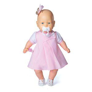 Boneca-Bebezinho-Vestido-Rosa-Claro---Estrela