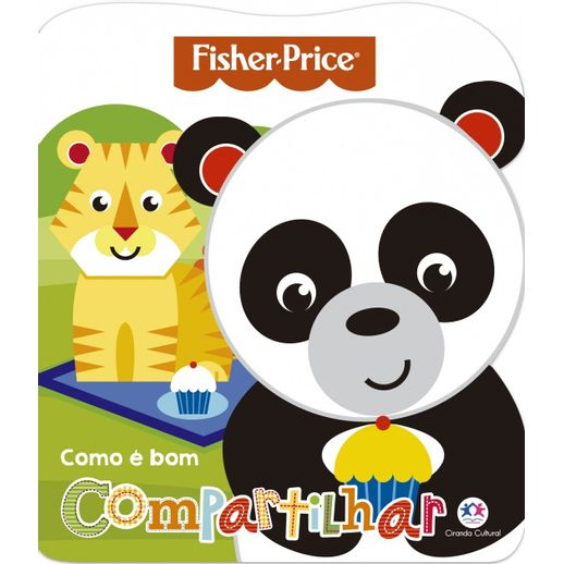 Livro-Fisher-Price-Como-e-Bom-Compartilhar---Ciranda-Cultural