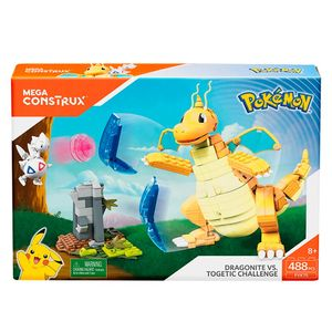Mattel-Mega-Construx-Pokemon-Batalha-Dragonite-Vs.-Togetic---Mattel