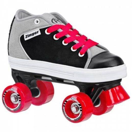 Patins-Quad-Zinger-Boy-Preto-e-Cinza-36---Roller-Derby