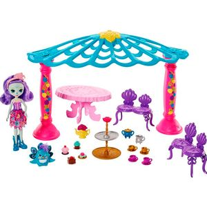 Enchantimals-Playset-Quiosque-Patter-Peacock---Mattel