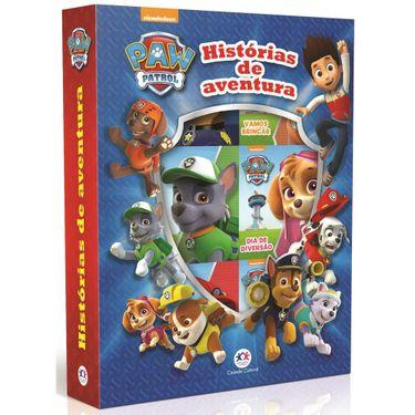 Box Com 6 Livros Patrulha Canina Historias De Aventura Ciranda