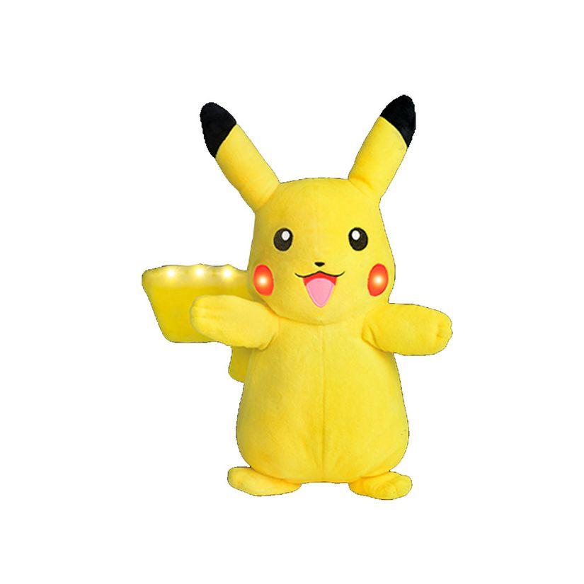 bf7a62805e5e1 Pokemon Power Action Pikachu com Luz e Som - DTC   Toymania - Toymania