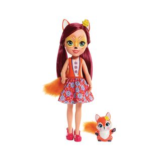 Enchantimals-Boneca-Articulada-Felicity-Fox-30-Cm---Mattel