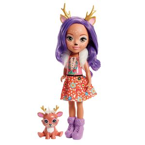 Enchantimals-Boneca-Articulada-Danessa-Deer-30-Cm---Mattel