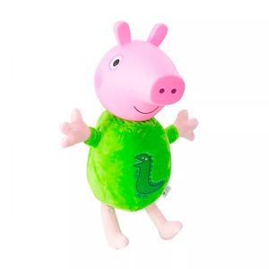 Peppa-Pig-Boneco-George-Cabeca-de-Vinil-Pijama---Estrela