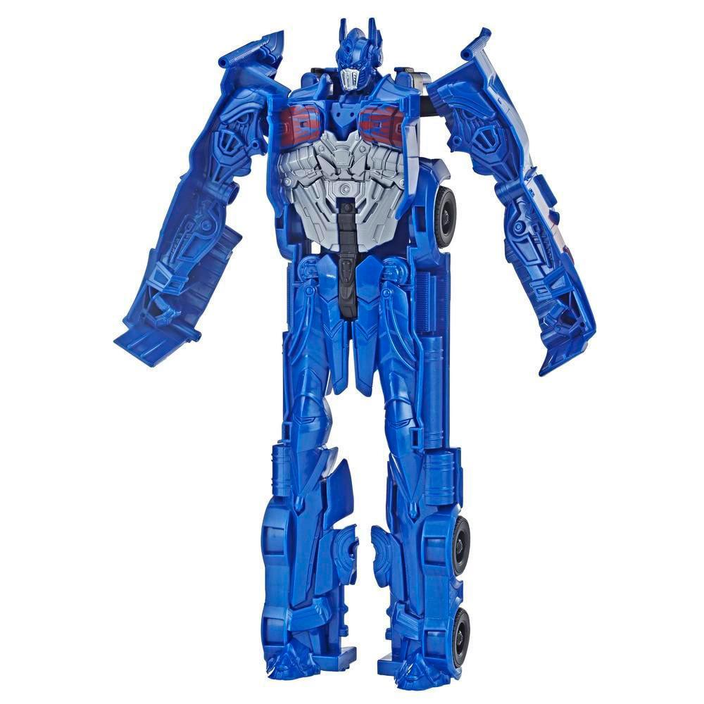 Transformers--Bumblebee---Titan-Changers-Optimus-Prime---Hasbro