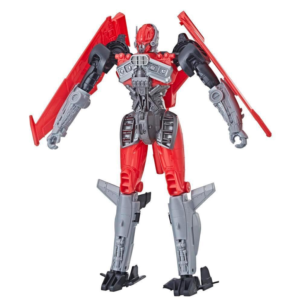 Transformers--Bumblebee---Titan-Changers-Decepticon-Jet---Hasbro