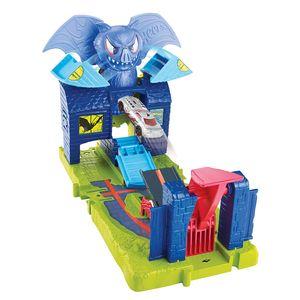Hot-Wheels-Playset-City-Bat-Manor-Attack---Mattel