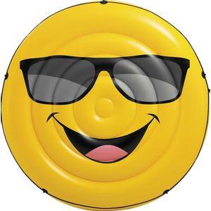 Colchao-Ilha-Inflavel-Emoji-para-Piscina---Intex